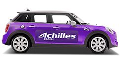 achilles on the car